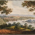 Washington And Georgetown From The Alexandria Road by Pavel Petrovich Svinin