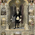 Washington As A Freemason by Freemason Art