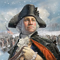 Washington At Valley Forge by Mark Fredrickson