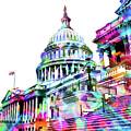 Washington Capitol Color 1 by Tony Rubino
