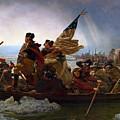 Washington Crossing The Delaware Painting - Emanuel Gottlieb Leutze by War Is Hell Store