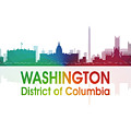 Washington Dc 1 Squared by Angelina Tamez