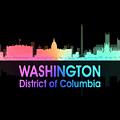 Washington Dc 5 Squared by Angelina Tamez