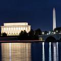 Washington Dc At Night by Bill Dodsworth