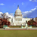 Washington Dc Capitol Building by Gregory Ballos