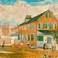 Washington D.c. Square 1874 by Padre Art