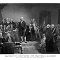 Washington Delivering His Inaugural Address by War Is Hell Store
