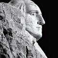 Washington Granite In Black And White by Nicholas Blackwell
