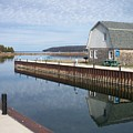 Washington Island Harbor 2 by Anita Burgermeister