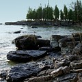 Washington Island Shore 1 by Anita Burgermeister