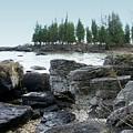 Washington Island Shore 3 by Anita Burgermeister