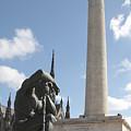 Washington Monument In Baltimore by William Kuta