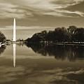 Washington Monument Reflecting Pool by Kyle Hanson