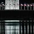 Washington Monument Reflections by Doug Sturgess