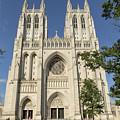 Washington National Cathedral Front Exterior by Belinda Greb