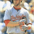 Washington Nationals Bryce Harper by Joe Hamilton