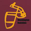 Washington Redskins Retro by Joe Hamilton