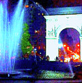 Washington Square Fountain 13c by Ken Lerner
