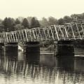 Washington's Crossing Bridge On A Rainy Day by Bill Cannon