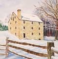 Washington's Grist Mill by Tom Harris