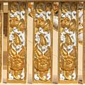 Wat Ban Na Meru Or Crematorium Decorations Dthst0190 by Gerry Gantt