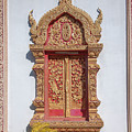 Wat Buppharam Phra Wihan Window Dthcm1581 by Gerry Gantt