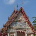 Wat Kao Kaew Phra Ubosot Gable Dthcp0020 by Gerry Gantt