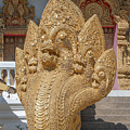 Wat Kumpa Pradit Phra Wihan Five-headed Naga Dthcm1664 by Gerry Gantt