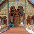Wat Mae Faek Luang Phra Wihan Entrance Dthcm1876 by Gerry Gantt