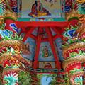 Wat Pa Neramit Mae Taeng Chinese Shrine Ceiling Dthcm2070 by Gerry Gantt