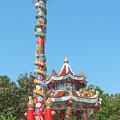 Wat Pa Neramit Mae Taeng Chinese Shrine Dthcm2061 by Gerry Gantt