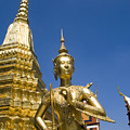 Wat Phra Kaeo by Bill Brennan - Printscapes