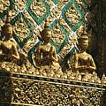 Wat Phra Keo (grand Palac by Allan Seiden - Printscapes