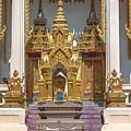 Wat Phrom Chariyawat Phra Ubosot Boundary Stone Dthns0120 by Gerry Gantt