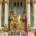 Wat Phrom Chariyawat Phra Ubosot Entrance Dthns0118 by Gerry Gantt