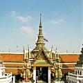 Wat Po Bangkok Thailand 13 by Douglas Barnett