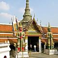 Wat Po Bangkok Thailand 16 by Douglas Barnett