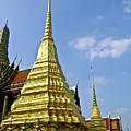Wat Po Bangkok Thailand 18 by Douglas Barnett