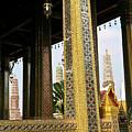 Wat Po Bangkok Thailand 22 by Douglas Barnett