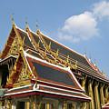 Wat Po Bangkok Thailand 24 by Douglas Barnett