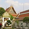 Wat Po Bangkok Thailand 35 by Douglas Barnett