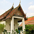 Wat Po Bangkok Thailand 39 by Douglas Barnett