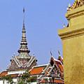 Wat Po Bangkok Thailand 6 by Douglas Barnett