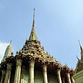 Wat Po Bangkok Thailand 8 by Douglas Barnett