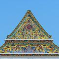 Wat Ratcha Orasaram Phra Wihan Gable Dthb0862 by Gerry Gantt