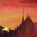 Wat Silhouette by Ryan Fox
