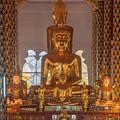 Wat Suan Dok Wihan Luang Buddha Images Dthcm0952 by Gerry Gantt