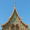 Wat Suan Prig Phra Wihan Gable Dthcm2391 by Gerry Gantt