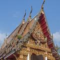Wat Subannimit Phra Ubosot Gable Dthcp0005 by Gerry Gantt