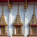 Wat Subannimit Phra Ubosot Windows Dthcp0009 by Gerry Gantt